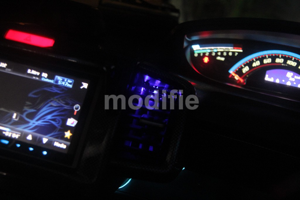 Honda Freed - Custom AC Grille with LED Illumination