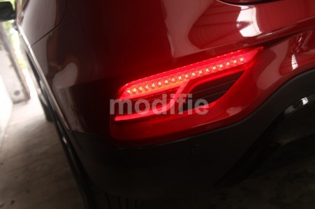 Hyundai SantaFe - Custom LED Bumper