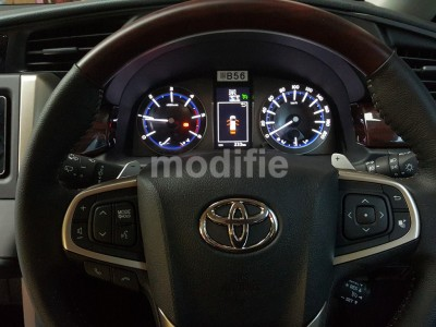 Toyota All New Innova 2016 - Additional Paddle Shift