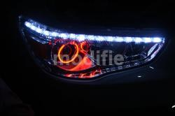 Mitsubishi Outlander - Custom Headlights